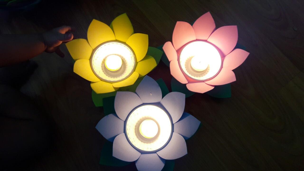 đèn hoa đăng thả nước
