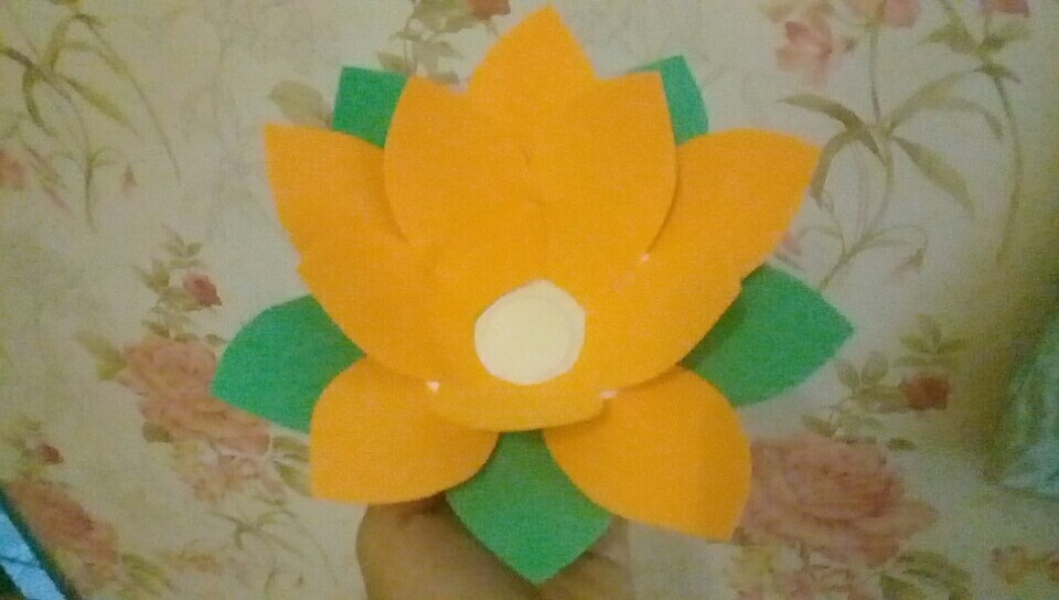 Hoa đăng 10 cánh 1 lớp đế