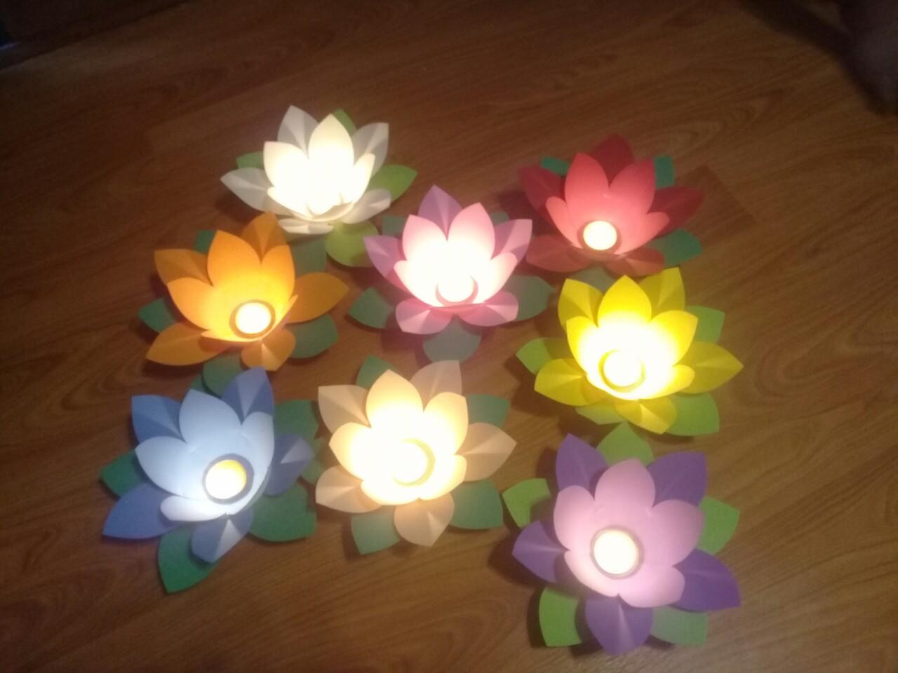 Đèn hoa đăng mút xốp giá rẻ