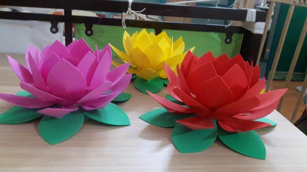 Hoa đăng 4 tầng đẹp lung linh